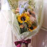 ジャパニーズスタイルの花束