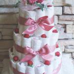 おむつケーキ 3段タイプ