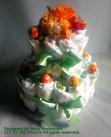 オムツケーキ CandyCream