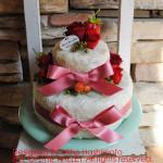 プリザーブドフラワー デコレーションケーキ