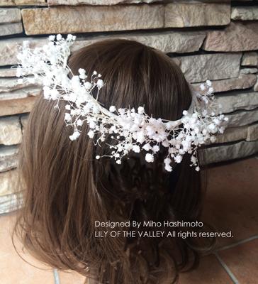 カスミソウの花冠