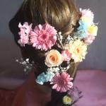 ラプンツェルの髪型用 花飾り